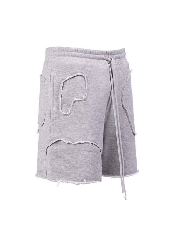 Repaired Shorts - Heather Grey