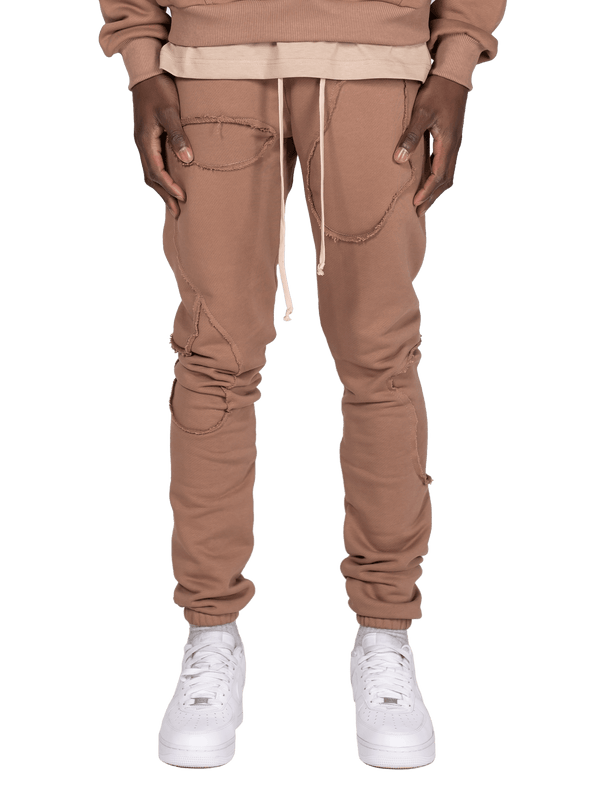 Repaired Sweatpants - Clay
