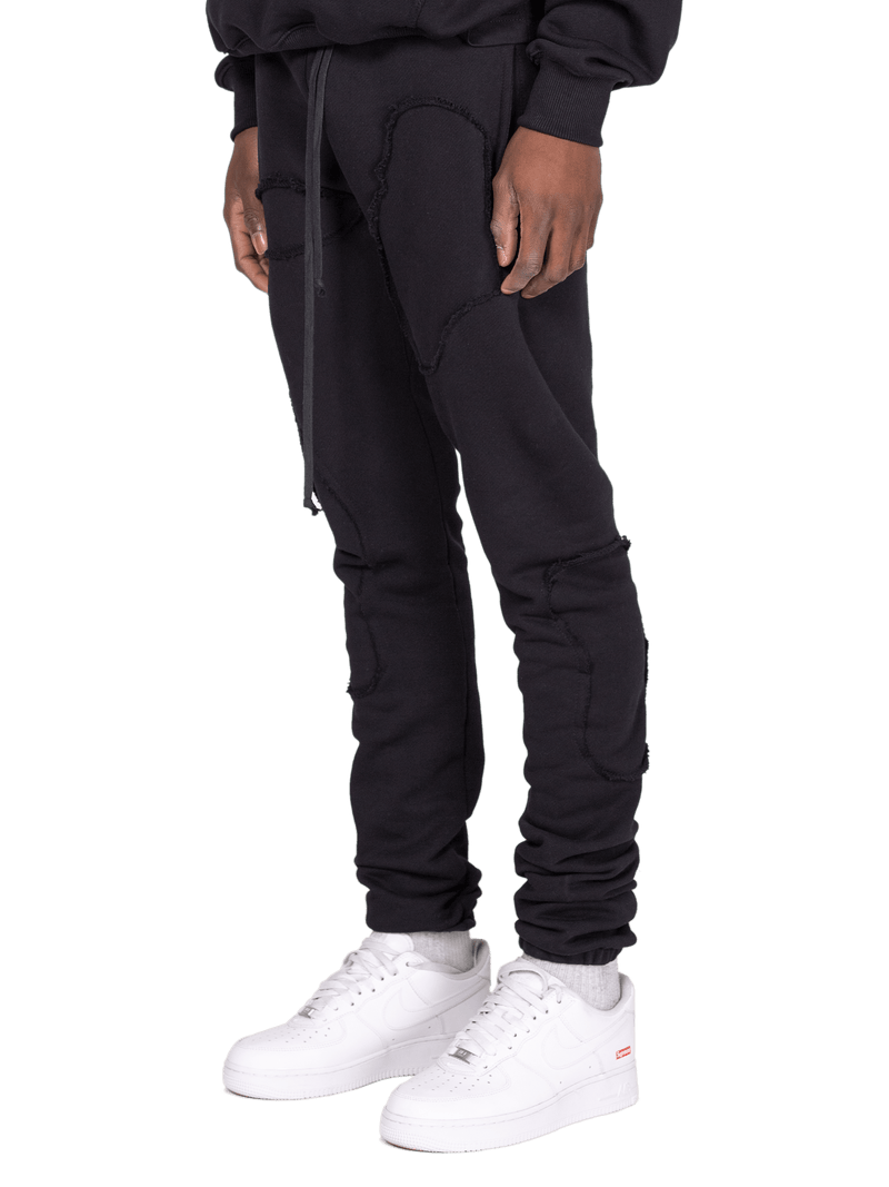 Repaired Sweatpants - Obsidian