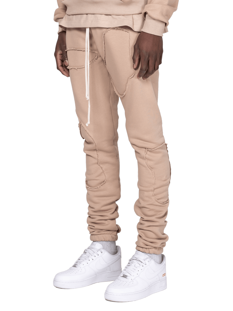 Repaired Sweatpants - Sand