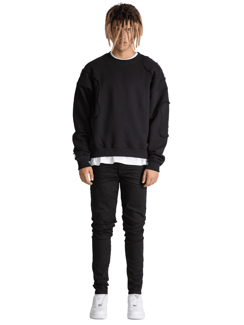 Repaired Sweater - Black