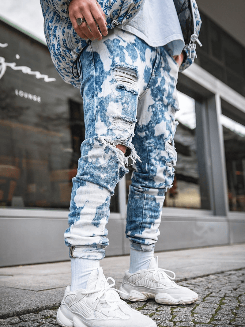 Splatter Denim
