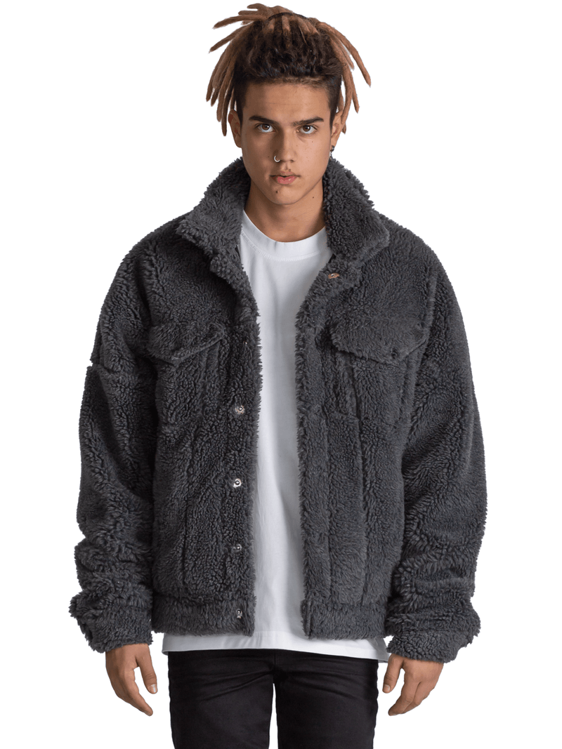 Sherpa Jacket - Grey