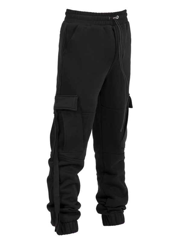 Lounge Cargo Pants - Black