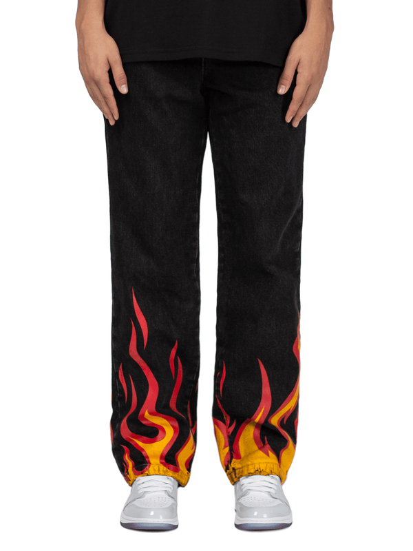 Flame Denim - Black
