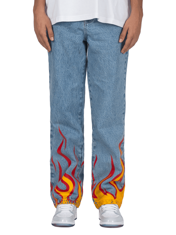 Flame Denim - Light Stone