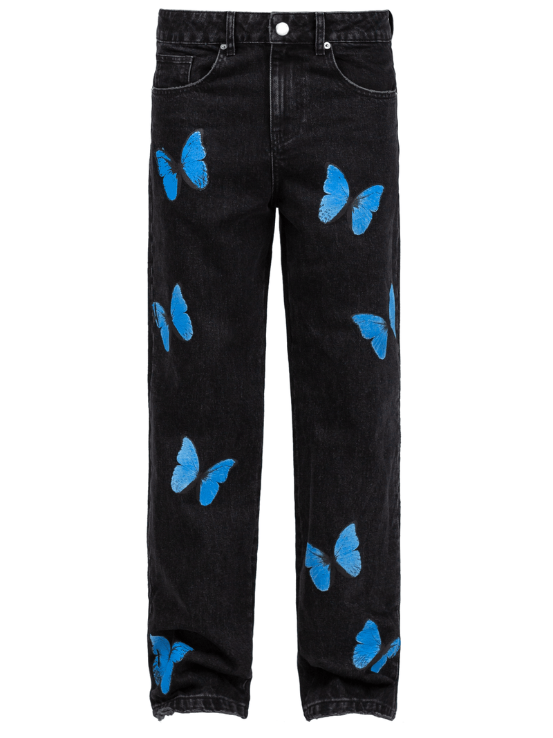 Butterfly Denim - Black