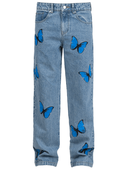 Butterfly Denim - Light Stone