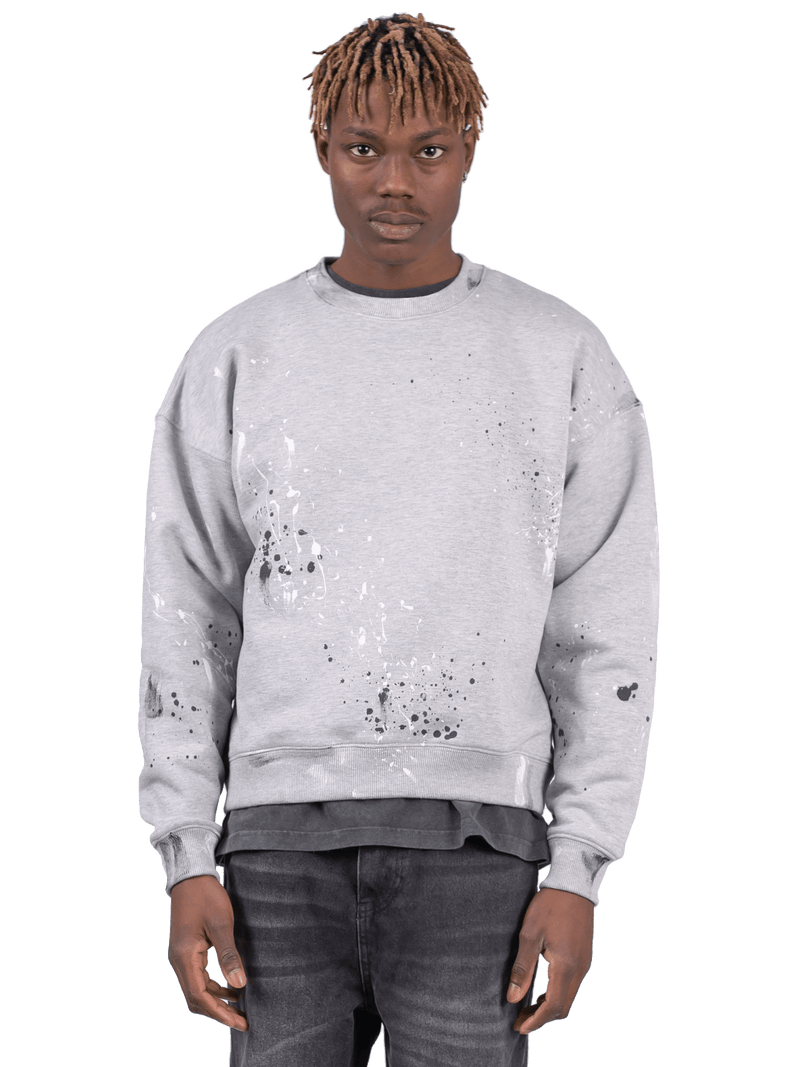 Splatter Crew - Heather Grey