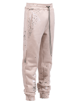Splatter Sweatpants - Sand