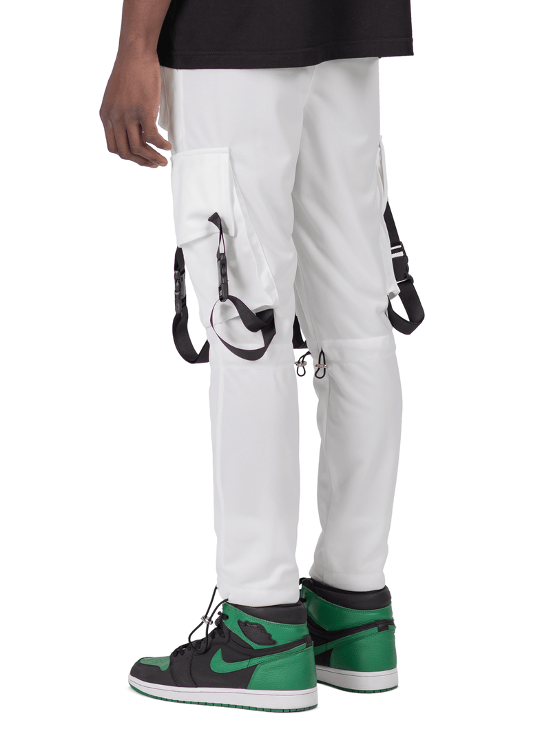 Sports Cargo Pants - Off-White