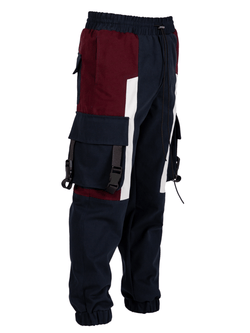Pocket Cargo Pants - Navy