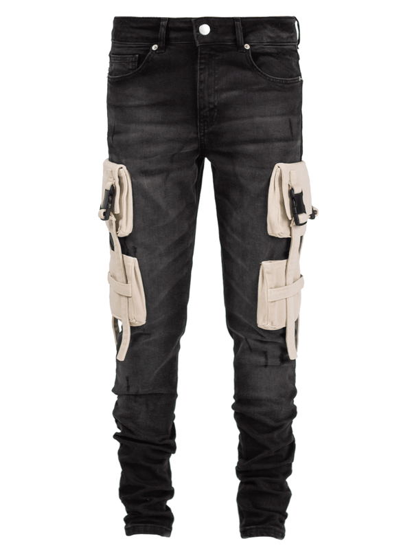 Utility Denim - Black