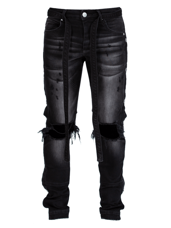 Western Denim - Black