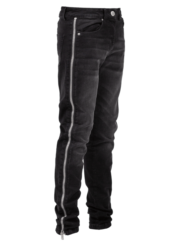 Zipper Denim - Black
