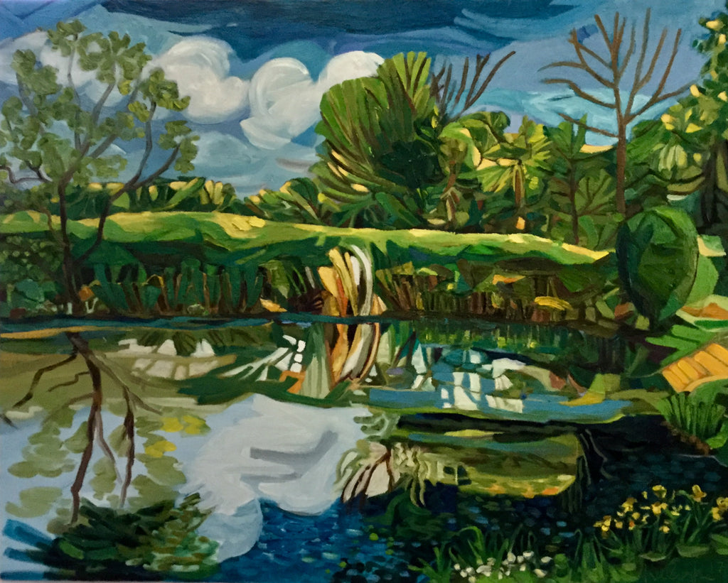 Karen Kulyk - Late Afternoon, The Pond at Charleston