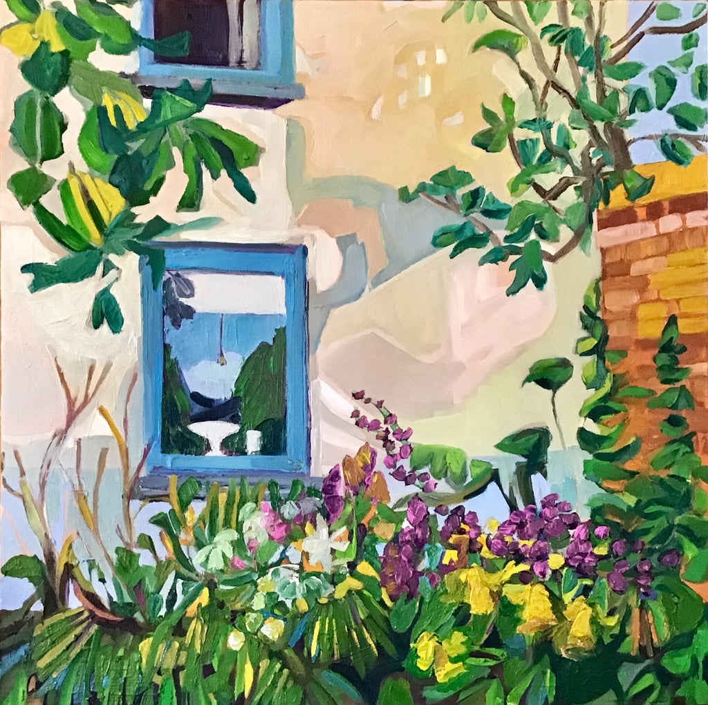 Karen Kulyk - Window to the Garden Room