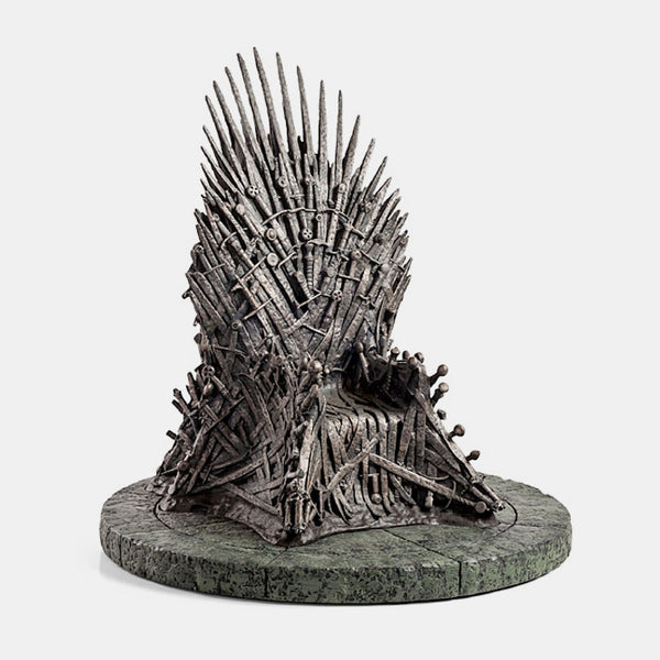 "HBO Game of Thrones: 7"" Iron Throne Replica Statue"