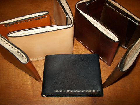 Handmade Leather Wallets by Old School Leather Co.