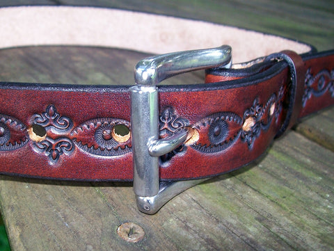 1.25 Inch Leather Belts