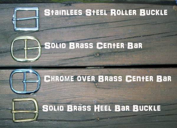 Belt Buckle Options