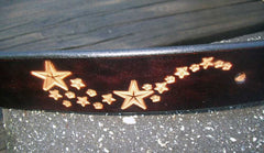 Celestial Leather Belt