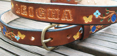 Personalized Leather Belts for Children