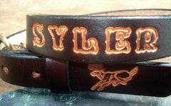 Boys Name Belt