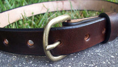 Handmade Leather Belts for Children