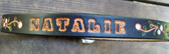 Leather Name Belt