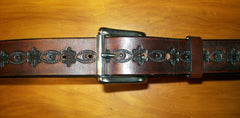 Dark Design Wide Leather Belt