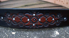 Leather Bling Belt