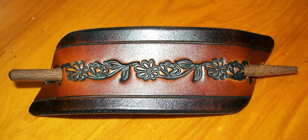 Leather Ponytail Holder