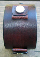 Mahogany Leather Watch Strap