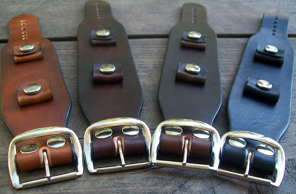 Minimal Leather Watch Bands