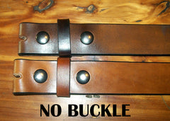 Snap Leather Belts