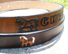 Child Leather Belt
