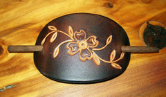 Leather Stick Barrette