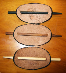 Leather Barrette Stick Colors