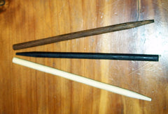 Wooden Sticks for Leather Barrettes