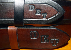 Personalized Leather Belts