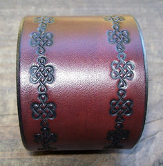 Handmade Leather Wrist Cuffs