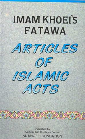 Articles of Islamic Act