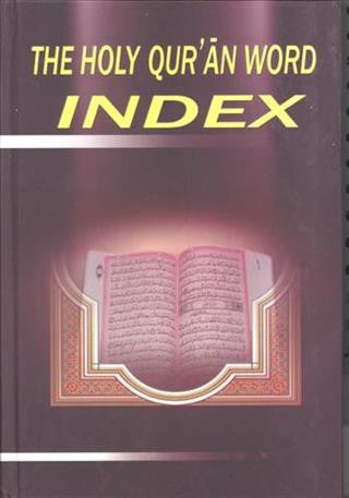 The Holy Qur'an Word Index