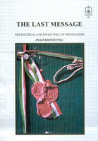 The Last Message, A  politico-Divine will, the summary of the life and struggle of Imam Khomeini
