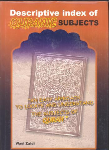 Descriptive Index of Quranic Subjects