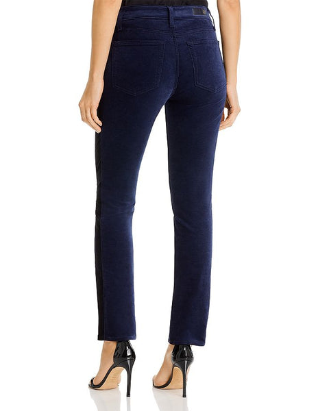 Blue velvet pants by AG jeans