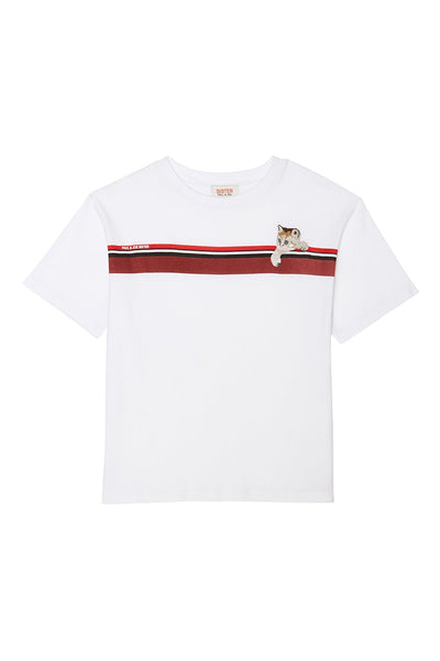 Kitty Stripe Tee