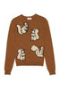 Caramel Squirrels Sweater