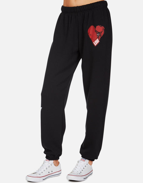 Boxing Glove Heart Sweatpants